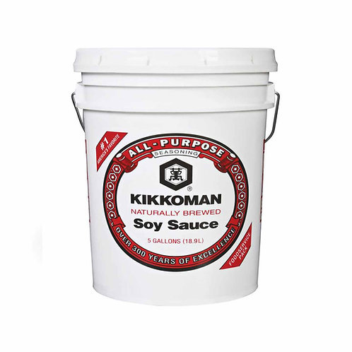 5GL Kikkoman Regular Soy Tub