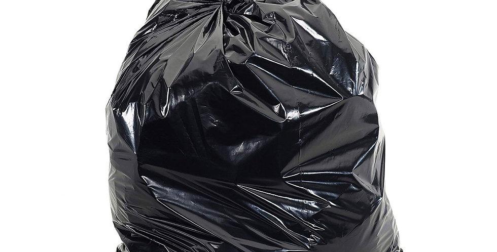 Black Contractor Bag