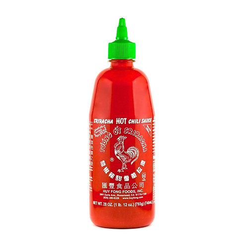 Sriracha Hot Sauce 28oz x 12BT / CS