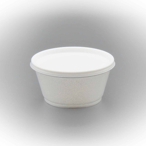 8oz Squat Foam Cup 1000PC/CS