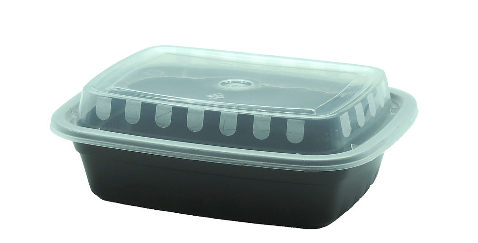 12 OZ. Rectangular Container 6818 150Sets/CS