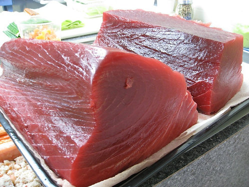 FRESH BLUEFIN TUNA BACK SIDE
