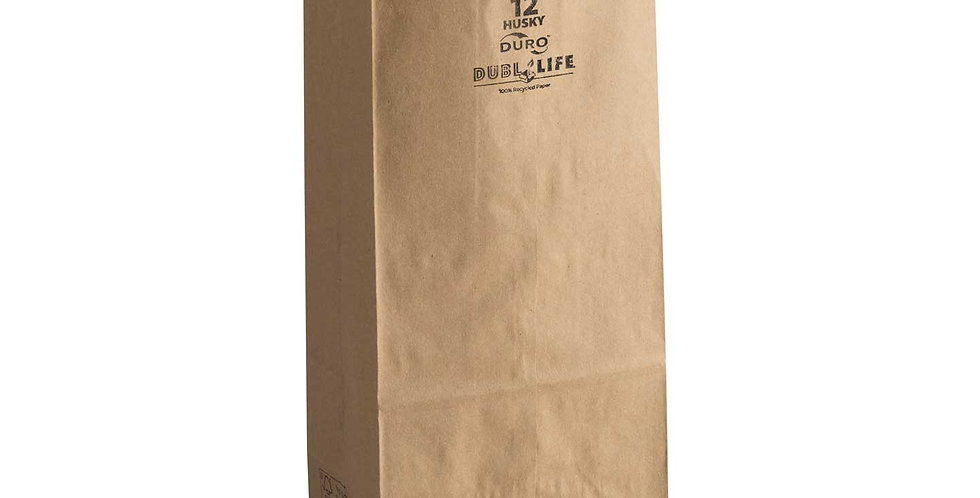 12 lb. Brown Paper Bag 400pcs/CS