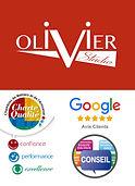 Logo OLIVIER Studio, Olivier Martinache