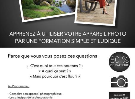 Apprenez à utiliser votre appareil photo