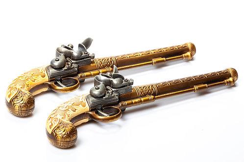 Imitation vieux pistolet (x 2)