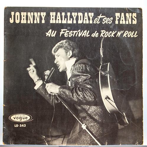 Johnny Hallyday et ses fans 45 tours