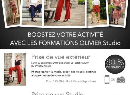 BOOSTEZ VOTRE ACTIVITÉ AVEC LES FORMATIONS OLIVIER Studio