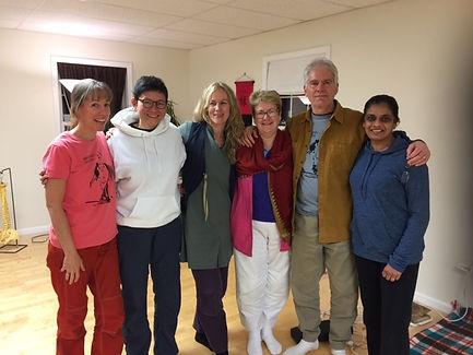 Advanced Central Channel Teacher Training - with Lynn Goodman, Rachel Boase, Liz Arundel, Saul Goodman and Kindy Kaur
