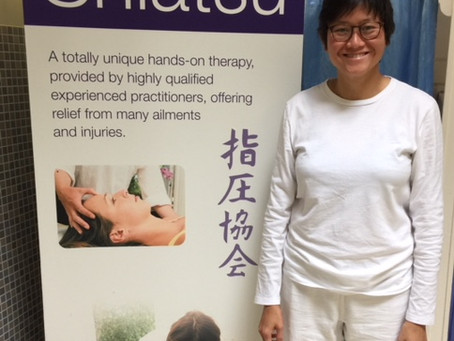 Being a Shiatsu practitioner