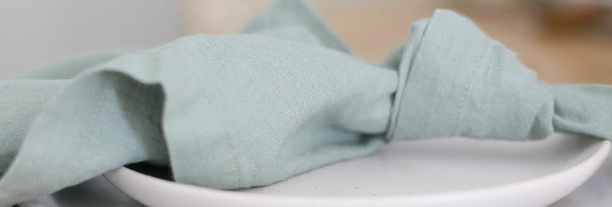 Sage Green Linen Napkin