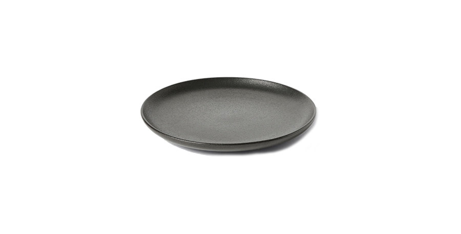 Black Pebble Side Plate