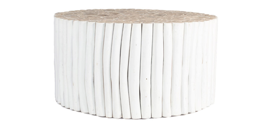 Takke Coffee Table - White