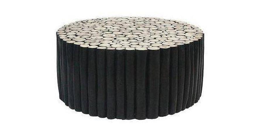 Takke Black Coffee Table