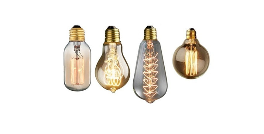 6m Assorted Edison Bulb Drop (inc. rigging)
