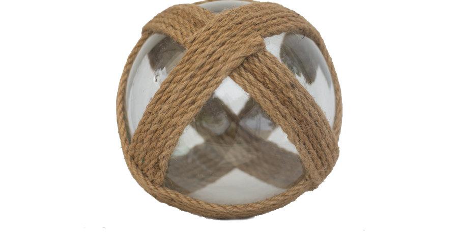 Nautical Clear Glass Ball