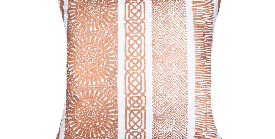 Copper Paths Cushion