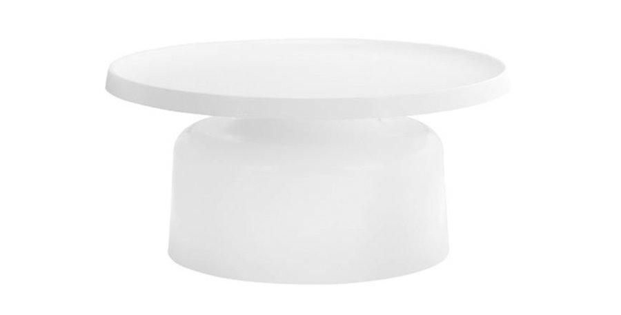 Palatine Steel Coffee Table – White