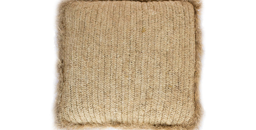 Raffia Floor Cushions