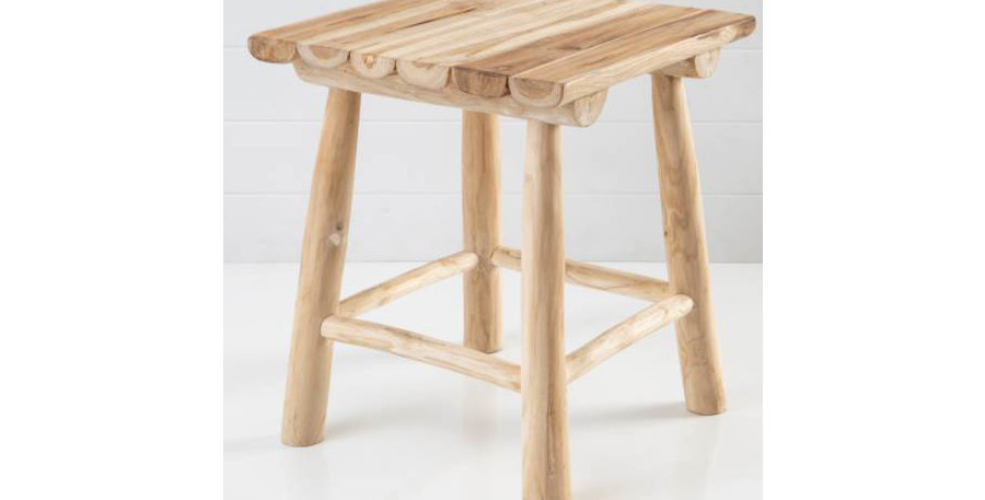 Harley Timber Stool