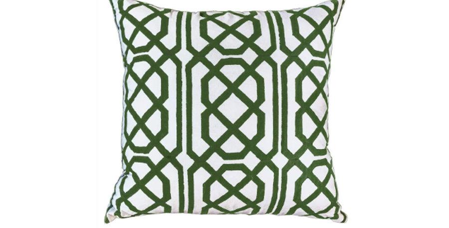 Emerald Celldon Cushion