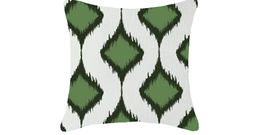 Emerald Clusters Cushion