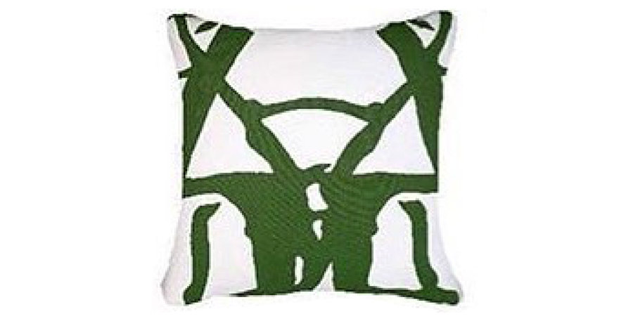 Emerald Twigs Cushion