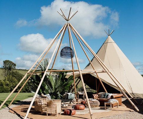 Naked and Traditional Tipi