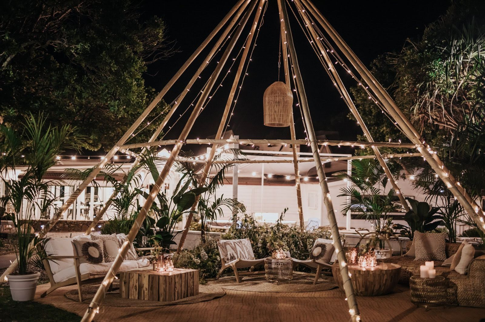 Naked Tipi at Beach Byron Bay
