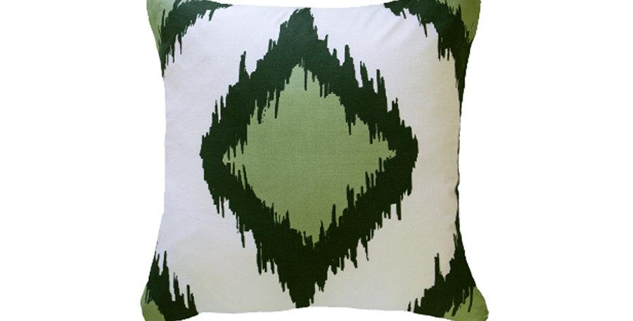 Emerald Diamond Cushion