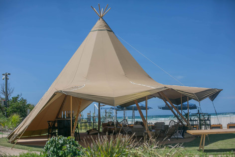 BBTW Tipi at Elements of Byron