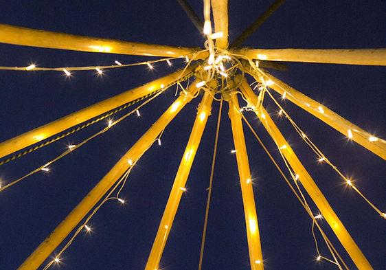 Event Hire Lighting Byron Bay Tipi Weddings