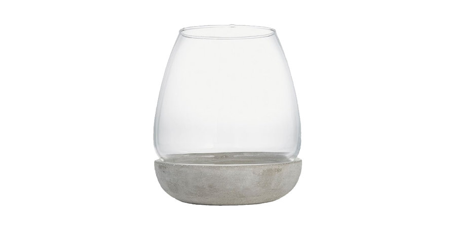 Hurricane Glass Lantern