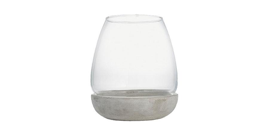 Hurricane Glass Lantern