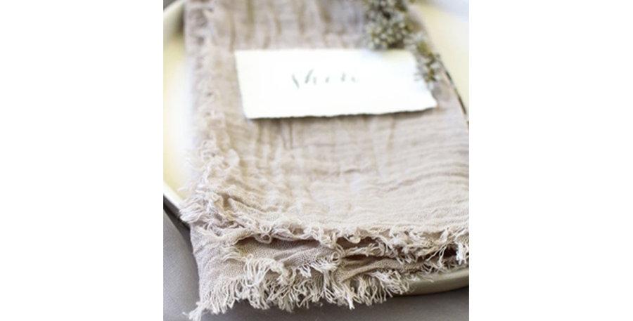 Wild Mushroom Cotton Napkin