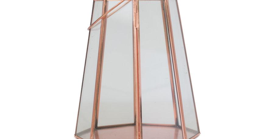 Rose Gold Lantern - small