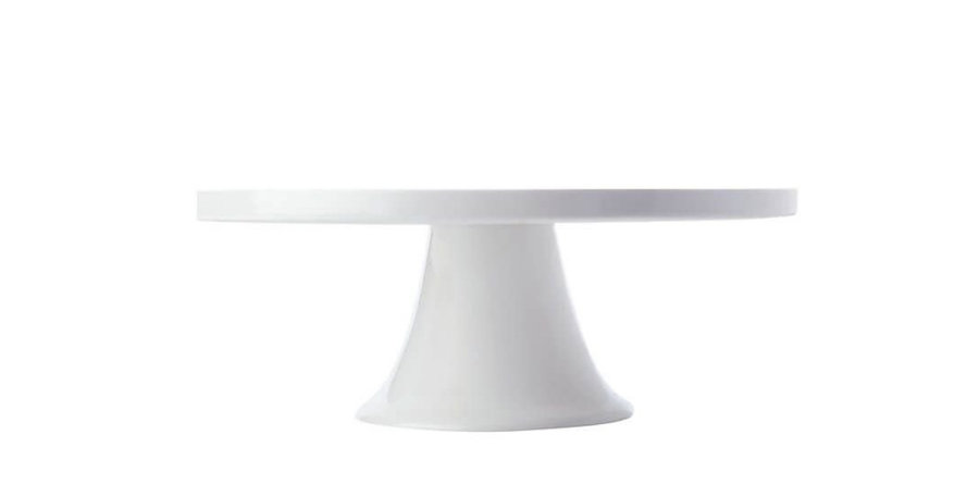 White Ceramic Cake Stand Large