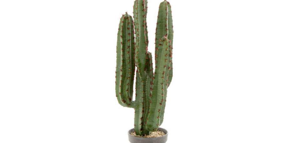 82cm Potted Faux Desert Cactus