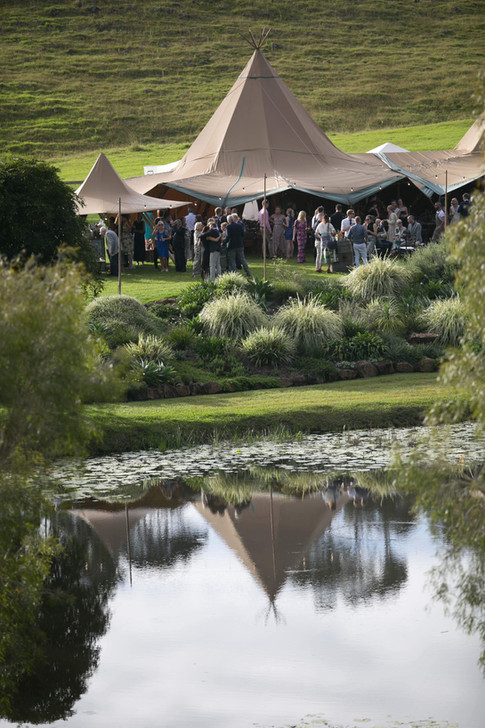 Giant and Canopy Tipi at Forget Me Not Weddings