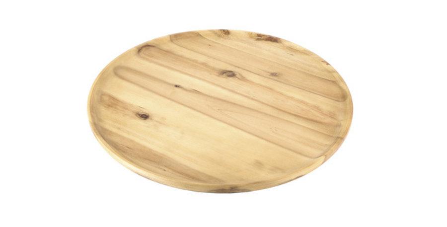 Round Timber Platter