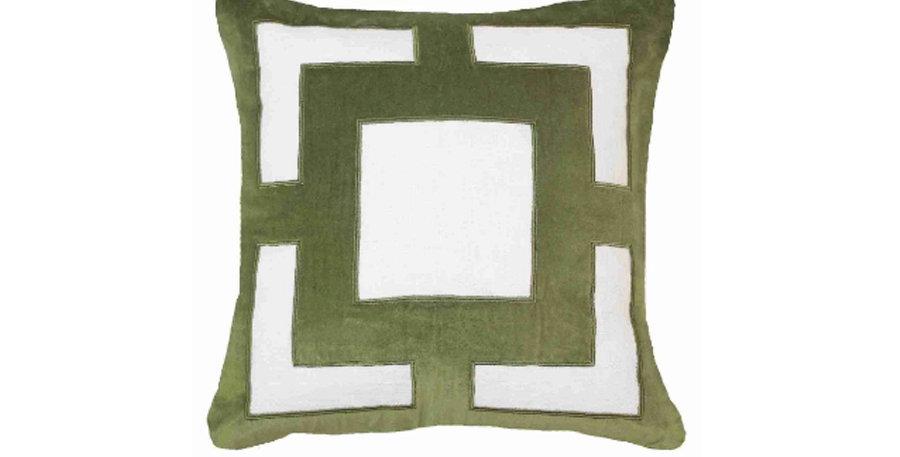 Emerald Cube Cushion