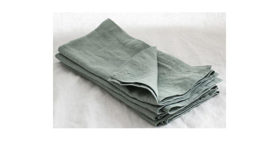 Sage French Linen Napkin