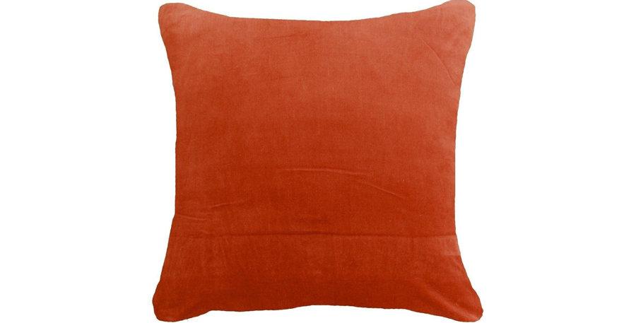 Rust Velvet Cushion
