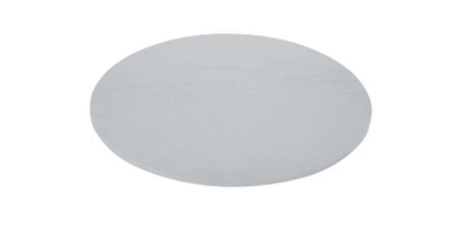 Grey Timber Charger Plate