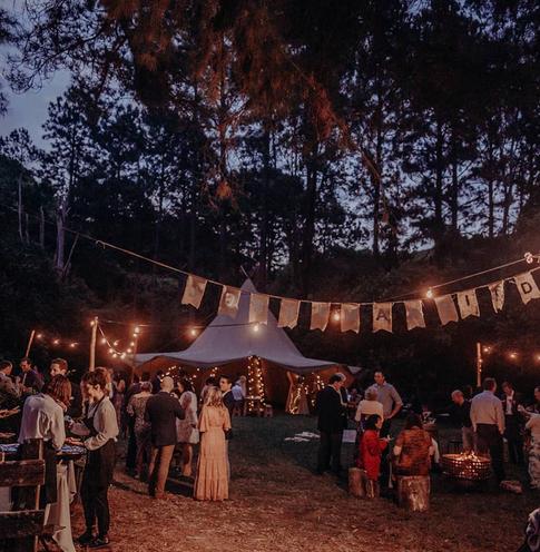 Tipi Wedding Glow