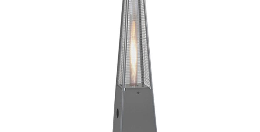 Gas Flume Heater - Silver