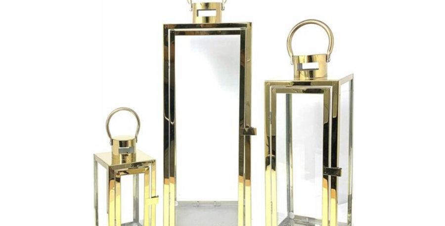 Gold Lantern Set