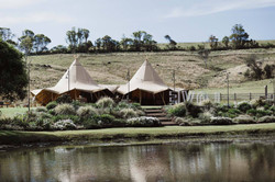 Giant Tipi at Forget Me Not Wedding
