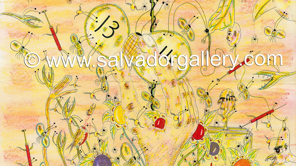 A3 PRINT 'The Egg Cracks (2)' - A3 Limited Edition Artwork 1/250