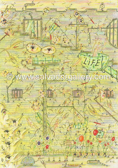 A3 PRINT 'Soul Deep' - A3 Limited Edition Artwork 1/250
